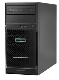 [HPE,ML30Gen10,HP] HPE ML30G10 4LFF熱抽機種/E-2244G伺服器/8GB RAM/1TB*2/DVD/500W*1